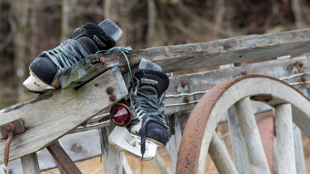 Wagon  Close-up Day Focus On Foreground No People Old Outdoors Skates Wheel Wood - Material