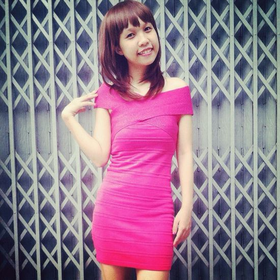 Smile Girl Pink Beauty
