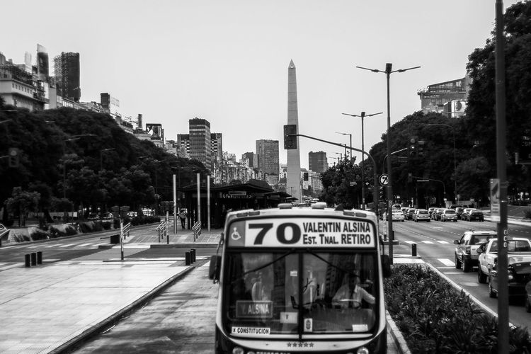 9 de julio avenue in Buenos Aires Avenue Buenos Aires City City Life Public Transportation Traffic Traffic Jam Architecture Black And White Blackandwhite Blackandwhite Photography Bnw Bnw_captures Bnw_collection Buenosaires Building Bus City Cityscape Public Transport Public Transportation Road Sky Skyscraper Street