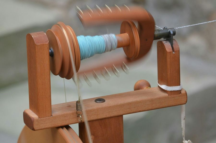 Capturing Movement Craft Spin Spining Wheel Hard Labor Thread Light And Shadow Eye4photography