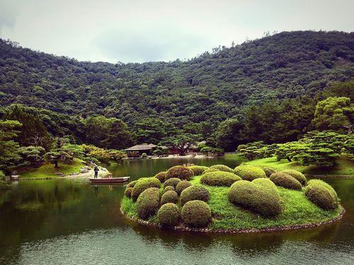 栗林公園 高松 香川 Green Color Formal Garden Relaxing Enjoying Life Hello World Famous Place Japanese Garden