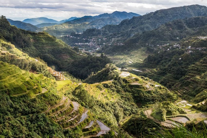 Banaue valley view Banaue Rice Terraces EyeEm Nature Lover EyeEm Selects EyeEm Gallery EyeEmNewHere Green Philippines Rays Of Light Agriculture Landscape Nature Outdoors Photographer Scenics View From Above