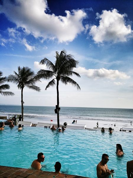 PotatoHeadBeachClub Sea Beach Sky Bali EyeEm Best Shots Travel Travel Photography Eyeem Travel Leicacamera Huawei Mate 9