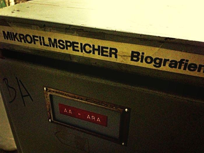 Viele Mikrofilme #ADN #nachrichtenagenturen