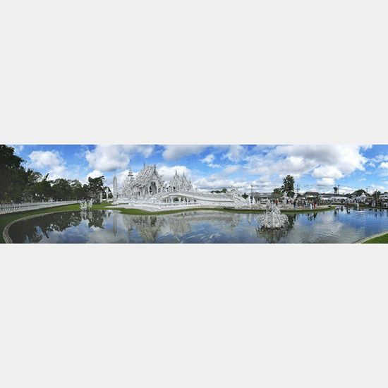 Chiangrai White Temple Whitetemple Architecture Art Monument Thailand Spotted In Thailand