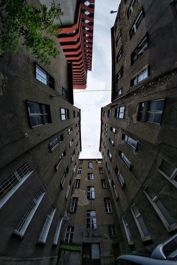 Cityscape Lookingup Fisheye Wide Angle Urban Landscape Skyscraper Decay The Architect - 2018 EyeEm Awards