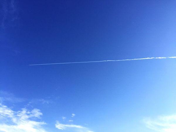 今日はとてもいい天気でしたね。 Walking Around Enjoying Life Clouds And Sky Blue Sky