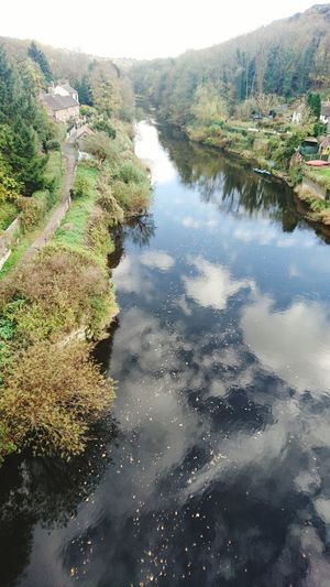 Water Nature Reflection No People Wharfage Autumn Colors Autumn Ironbridge Gorge