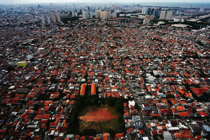 Jakarta Cityscape Cityscape Photography Jakarta Streets Ground Soccer Field