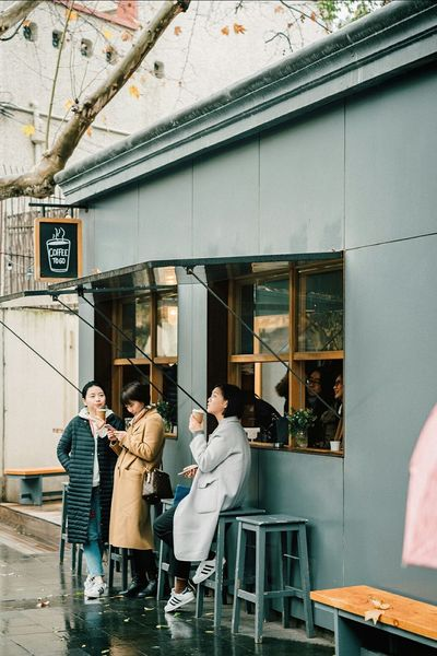 Window Outdoors Togetherness Taking Photos Street Photography Streetphotography People Coffee Shop