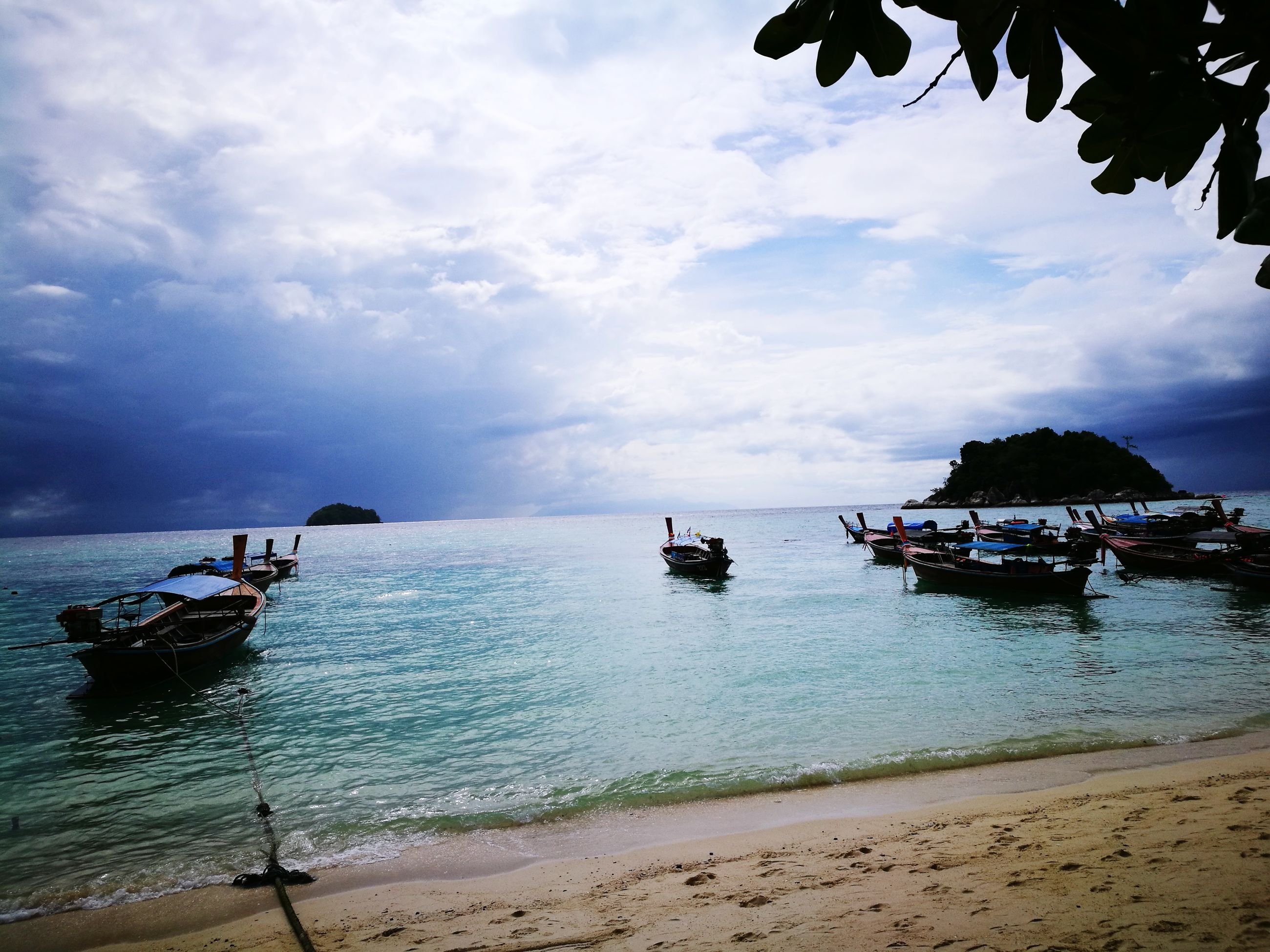 sea, nautical vessel, sky, tranquility, nature, water, transportation, outdoors, tranquil scene, beach, beauty in nature, scenics, cloud - sky, day, no people
