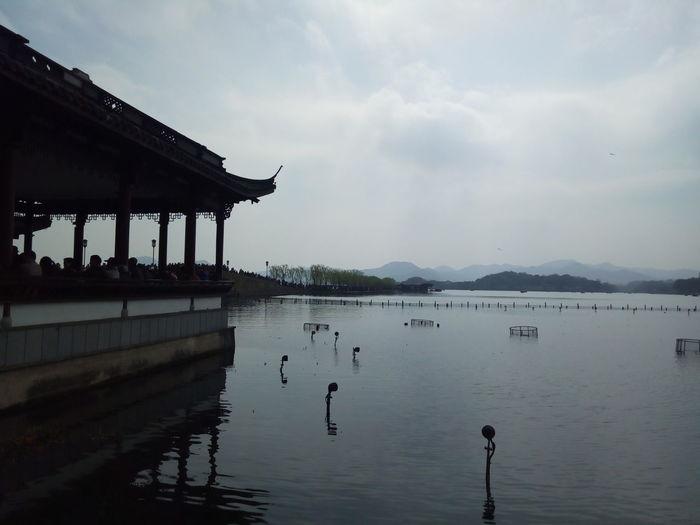 West Lake Water Reflection Cloud - Sky Outdoors Beauty In Nature Hangzhou