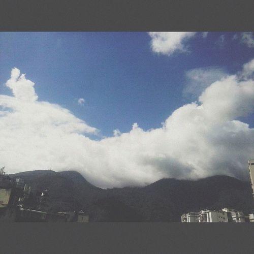 Aerial Shot Caracas City Venezuela El Avila .Caracas Venezuela Caracas