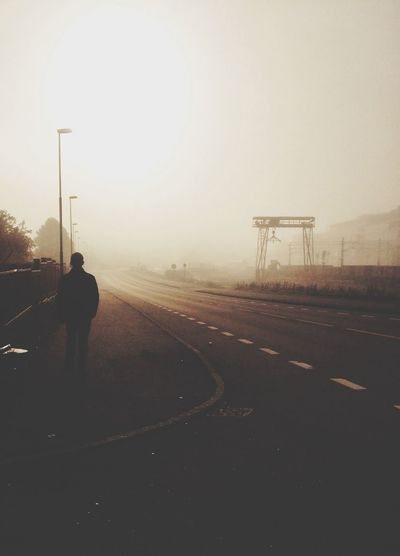 Peaceful Morning Mist Autumn