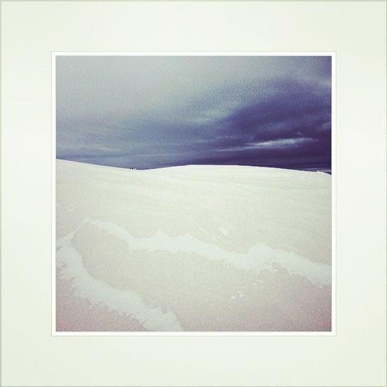 Deserto ghiacciato #renon #sudtirol #schwarzseespitze #webstapic #instapic #inviaggio #dolomiti