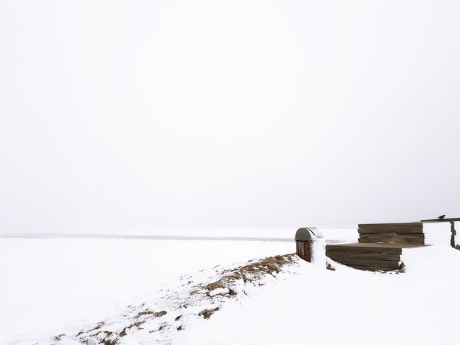 EyeEm Nature Lover EyeEm Gallery Snow ❄ The Week On EyeEm Wintertime Beach Beauty In Nature Cold Temperature Copy Space Landscape Minimalism Nature Nature_collection No People Scenics Snow Snowing Tranquil Scene Weather White White Color Winter Winter Wonderland