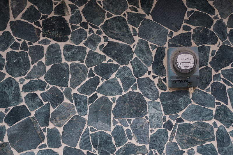 Architecture Kaohsiung Taiwan Design Power Meter Retro Design Retro Style Stone Tile Stone Wall Vintage