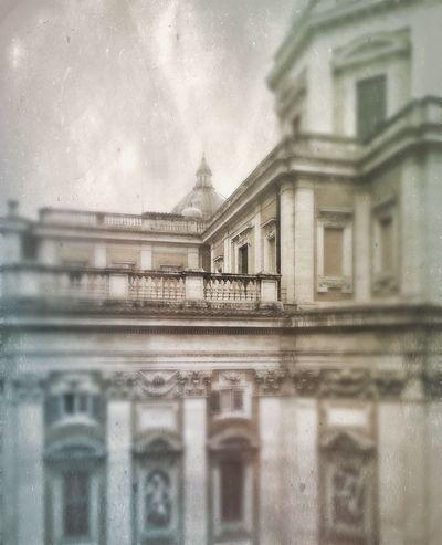 Santa Maria Maggiore Christianity Architecture Rainy Days Grey Sky Greatness