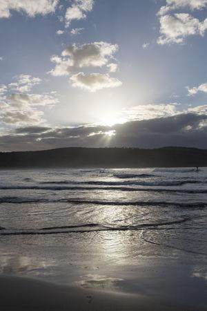 Australia Travel Beach Beauty In Nature Cloud - Sky Idyllic Land Nature No People Non-urban Scene Outdoors Reflection Scenics - Nature Sea Sky Sun Sunlight Sunset Tranquil Scene Tranquility Travel Destinations Water