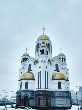 Architecture Built Structure Religious Buildings храм храмы России Церковь Ortodox Church Religious Architecture Church Architecture Church Dome Church Frozen Sky Winter крест Snow Cross Golden Domes Cold Temperature Ortodox Religion Cathedral Ortodox Religious Place Building Exterior Religion
