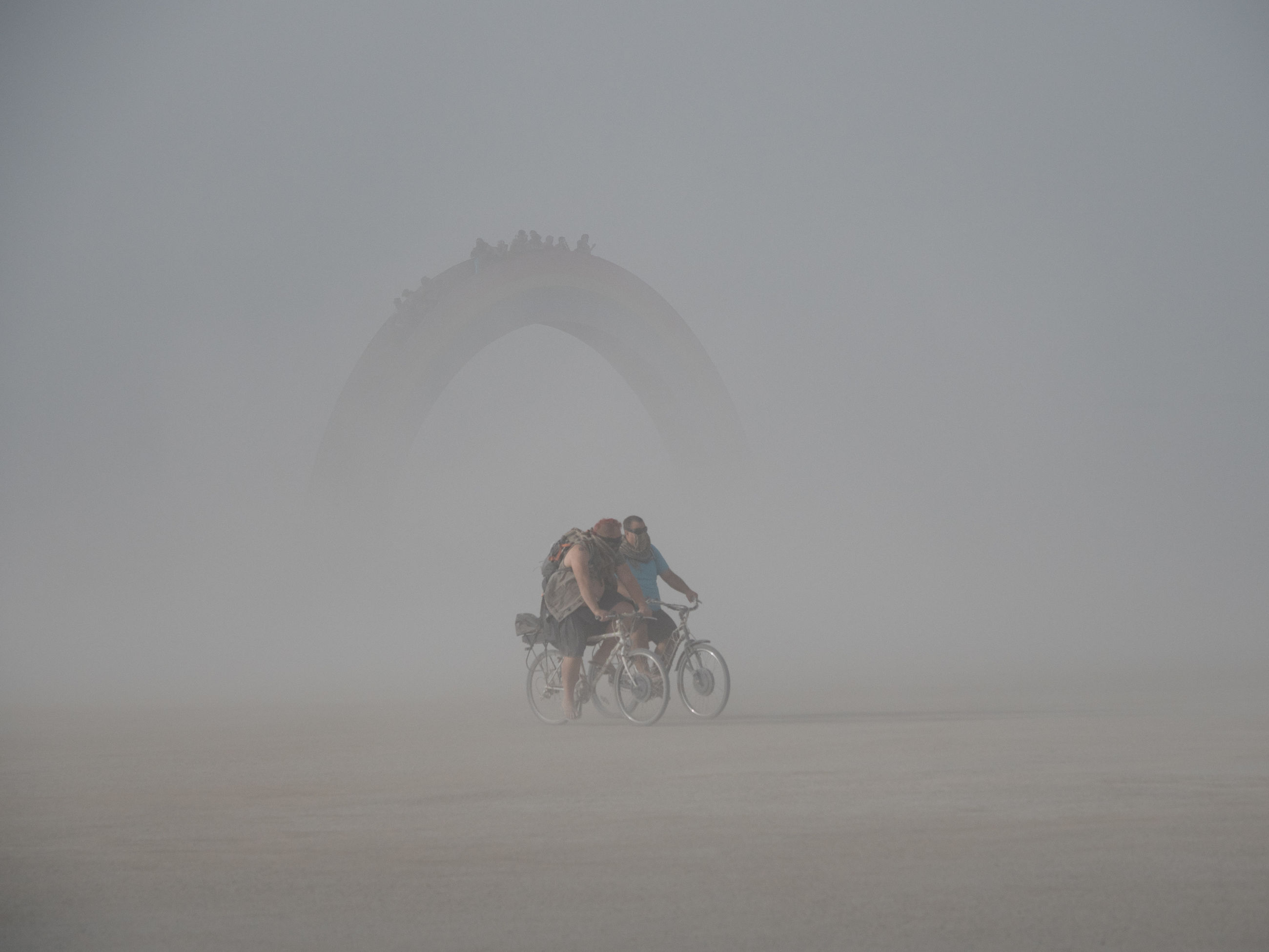 one person, transportation, sport, riding, bicycle, real people, ride, mode of transportation, lifestyles, fog, full length, copy space, land vehicle, activity, side view, leisure activity, motion, nature