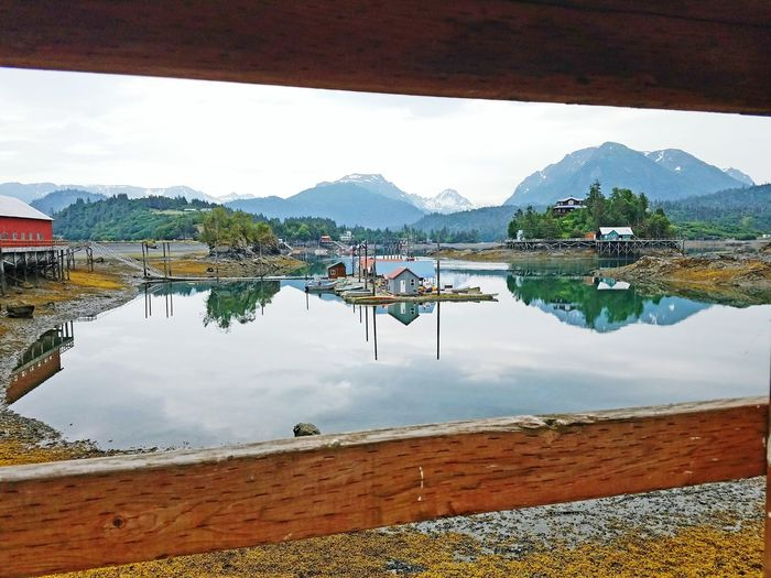 Hidden Gems  This is Halibut Cove off of the Homerspit Alaska Halibut cove is a very quaint, relaxing, only accessible by Boat community Taking Photos Hello World Enjoying Life Nature Photography Reflections Natural Beauty Kachemak Bay