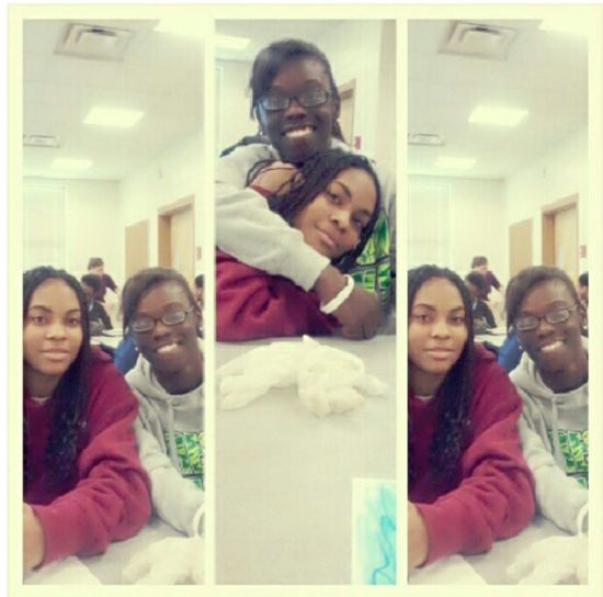 Bestfriend And Me In Fourth Block Yesterday