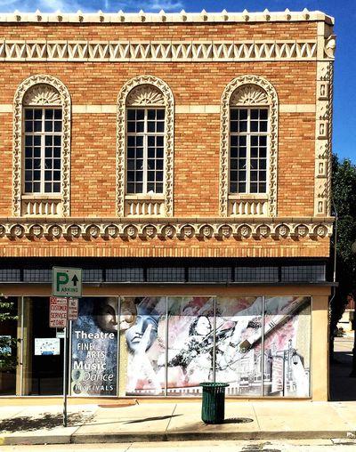 ART CORNER ~ Saint Joseph, Missouri USA ~ Cityscape Landscape Dreamscapes Dreamscapes & Memories Theappwhisperer Urban Landscape Roadside America Saint Joseph Relic From The Past It Was Only A Dream Beautiful Mysterious