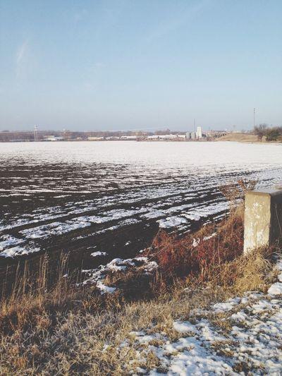 Outside Snow Kansas Lanscape Photography Sunnyday Sunny