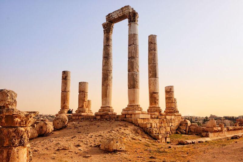 Roma ruins
