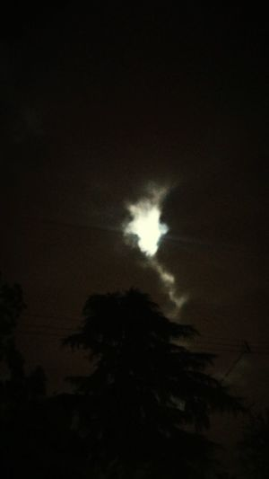 Walking home. Clouds Moon Cloudcrack Night Walking October
