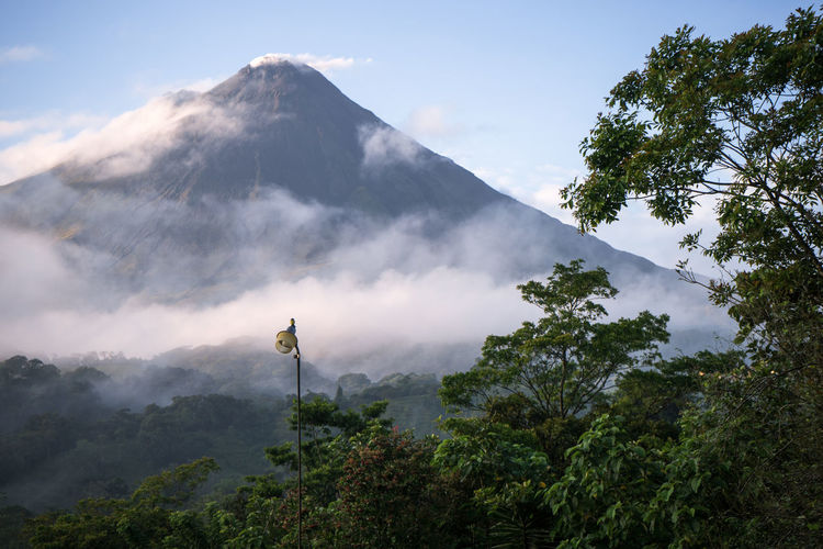 Arenal  Costa Rica Landscape Mountain Mountain Range No People Outdoors Tranquil Scene Tranquility Volcanic Landscape Volcano