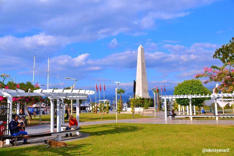 Fethiye kordon anıt