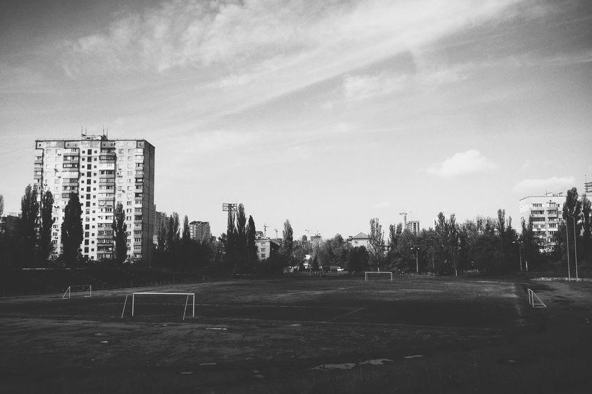 Black & White Kiev восход