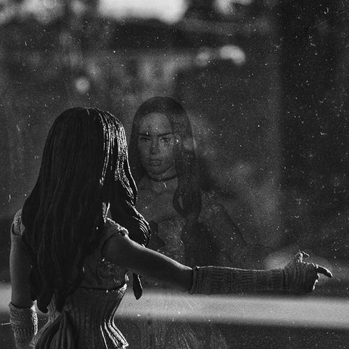 Reflection. Photography Photos Photo Photographer MelbournePhotographer VSCO Vscocam Vscocamphotos Vscoaus Vscoaustralia Vscomelbourne Snapseed Canon Doll Model Figure Figurine  Reflection Window MeganFox Jonahhex Gspc Face Blackandwhite Bw bnw blackandwhitephotography bw_awards bnw_awards blackandwhiteisworththefight