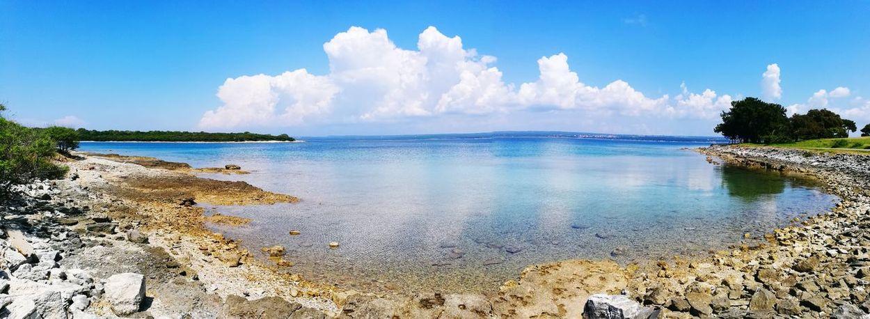 Tree Water Sea Beauty Beach Blue Multi Colored Sand Tropical Climate Summer Lagoon Island