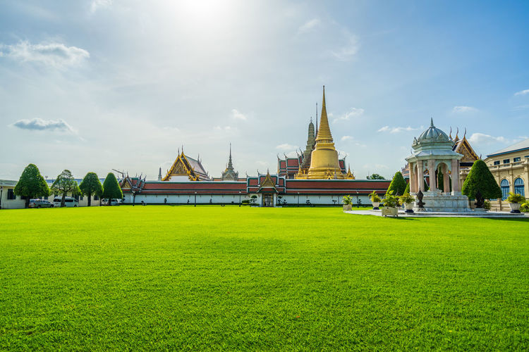 Wat phra kaew is the most important buddhist temple in thailand.