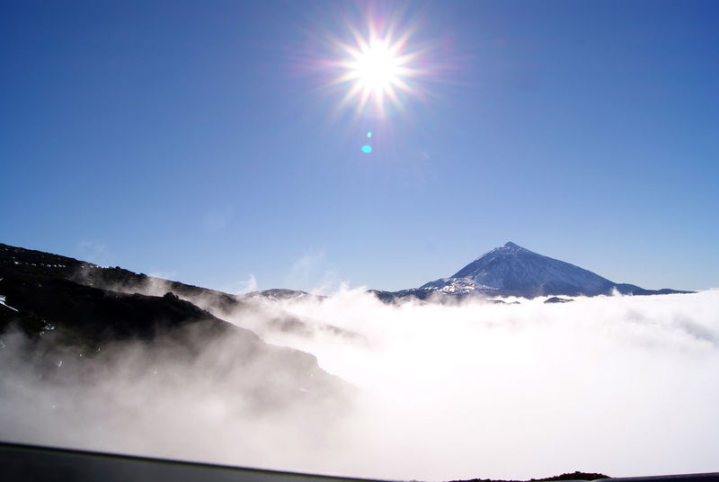 Canarias Sky And Clouds Volcano Beautiful Nature