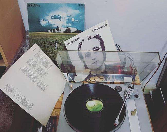 John Lennon Mind Games Vinyl Johnlennon Mindgames