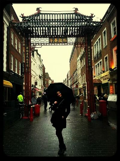 London -@ Chinese Town LONDON❤ Chinese Town Happy