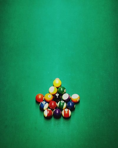 King's Corner $1 Dollar Game Rack Cue Green Table Pool Ball Pool Table Pool - Cue Sport Variation Green Background Sport Close-up Green Color Pool Hall Pool Cue Ball Breaking The Ice Cue Ball Leisure Games Snooker And Pool Aiming