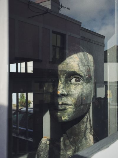 Mannequin Eyes Streetphotography Abstract Sculpture Reflection Brighton