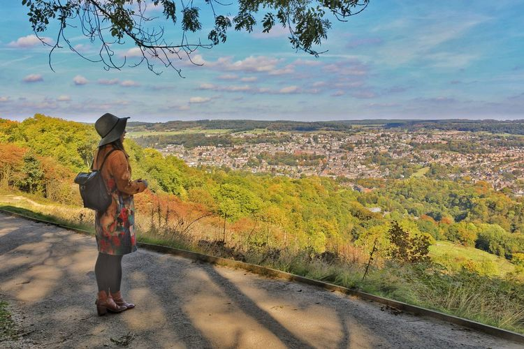 Matlock Derbyshire UK Overlooking The Land Overlooking Matlock Overlooking City Overlooking Look At The View Derbyshire Looking Over The Lanscape Matlock Bath Derbyshire Uk Matlock, United Kingdom Derbyshire Look At The View Matlock One Person Full Length Real People Sky Cloud - Sky Child My Best Travel Photo Standing Lifestyles Leisure Activity Casual Clothing Beauty In Nature Landscape