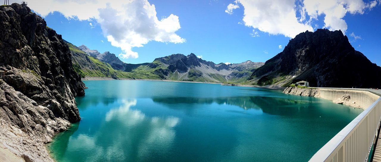 Traveling Summertime Quality Time Austria OpenEdit Travel Photography Beauty In Nature EyeEm Nature Lover Vorarlberg  Impressive View Glacier Lagoon Hiking Lovely Weather IPhoneography Blue Mountains
