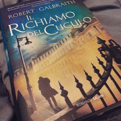Sunday! Book Bookworm Sunday Relax Ilrichiamodelcuculo RobertGalbraith Rowling TheCuckoosCalling Reading Goodreads Readingchallenge Picoftheday