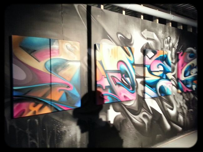 Graffiti Streetart Art Exhibition Digital Does
