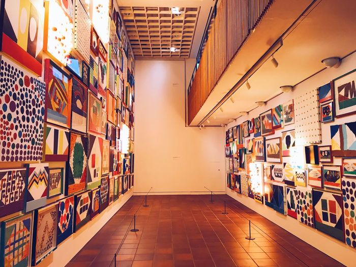 Indoors  Multi Colored No People Architecture Day Louisiana Humlebæk Denmark Tal R Art Center Painting Artist Louisiana Museum Of Modern Art Indoors  Art Gallery Modern Art Paintings Painter - Artist Art Still Life Arts Culture And Entertainment No People,