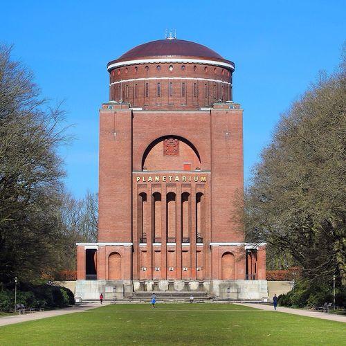 Planetarium Building Old Buildings Brick Blue Sky Hamburg Germany Traveling Travel HAMBURG ... Moin Moin