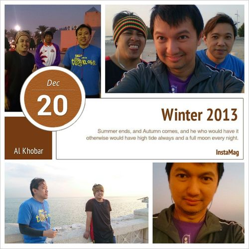 Winter Jogging Corniche Alkhobar