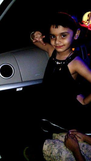 Cutie Looking At Camera Smiling Night Lights PihuDarling🙍❤